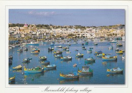 POSTCARDS OF MALTA / MARSAXLOKK FISHING VILLAGE - Malta