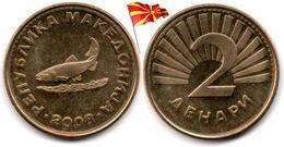 Macedoine - 2 Denari 2008 (UNC) - Macédoine