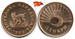 Macedoine - 5 Denari 1993 (UNC) - Macedonia