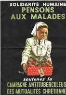 PENSONS AUX MALADES Contre La Tuberculose - Advertising