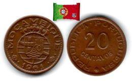 Mozambique - 20 Centavos 1961 (High Grade) - Mozambique