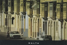 POSTCARDS OF MALTA / MALTESE TOWN HOUSES - Malta
