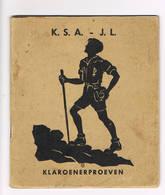 K.S.A Klaroenenproeven - Scouting