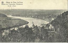 Abbaye De Flône Lez Amay -- Vue Sur La Meuse. (2 Scans). - Amay