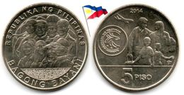 Philippines - 5 Pisos 2014 (UNC - Bagong Bayani) - Filippine