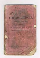 Etrennes Liegeoises Almanch De 1849 - 1801-1900