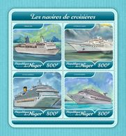 Niger. 2017 Cruise Ships. (620a) - Schiffe