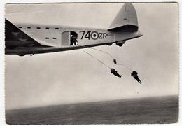 AVIAZIONE - AEREI - CENTRO MILITARE DI PARACADUTISMO - 1959 - Vedi Retro - Paracadutismo