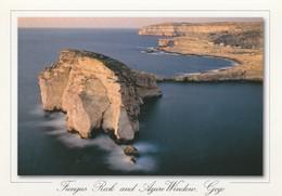 POSTCARDS OF MALTA /  FUNGUS ROCK AND AZURE WINDOW - Malta