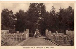 ORBEY - OSSUAIRE SUR LE CIMETIERE DU WETTSTEIN - Orbey