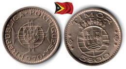 Timor - 5 Escudos 1970 (UNC) - Timor