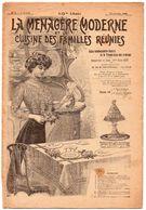 Revue La Ménagère Moderne Et La Cuisine Des Familles Réunies N° 3 Du 17/01/1909 - 1900 - 1949
