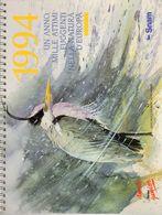 Snam  1994  Un Anno Mille Attimi Fuggenti Nella Natura D'Europa  - - Calendari
