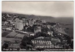 RIVIERA DEI FIORI - SANREMO - SAN REMO - LA FOCE - 1957 - San Remo
