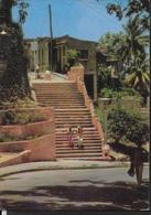 CUBA - SANTIAGO DE CUBA - VIAGGIATA FRANCOBOLLO ASPORTATO - Cartoline