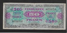 France Trésor 50 Francs France Juin 1944 Sans Série- Fayette N°VF 24-1 - TB - Trésor