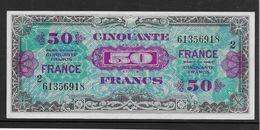 France Trésor 50 Francs France Juin 1944 Série 2 - Fayette N°VF 24-2 - SPL - Treasury