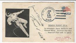 Cover * USA * 1965 * Gemini Flight GT-4 * Cape Canaveral * FL * Autographs Autopen - Verenigde Staten