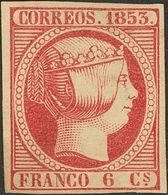(*) 6 Cuartos Rosa (pequeñas Claridades). Excelente Presencia. MAGNIFICO. (Edifil 2018: 610€) - Spain