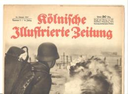 """Guerre 40/45 - Revue """"Kölnische Illustrierte Zeitung """" 16 Janvier 1941 (adl) - Revues & Journaux"""