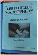 BOULES  DE  MOULINS   -   LES  FEUILLES  MARCOPHILES   SUPPLEMENT  253     17  PHOTOS - Oblitérations