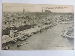 NANTES - La Loire, Le Quai De La Fosse Et La Ville Pris Du Transbordeur  N°2356 - Nantes