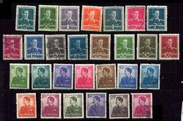 Roumanie *, Ob  N°  - 619- 633 - 634/640 -  687/692 - Unused Stamps