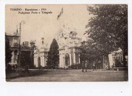8 - TORINO  -  Esposizione - 1911 -  Padiglione Posta E Telegrafo - Expositions