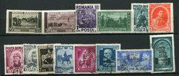 Roumanie Ob ,n° 552 à 565  Centenaire De La Naissance Du Roi Charles 1er - Unused Stamps