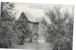 LE CHESNE N 25 CHALET DE LUCIEN HUBERT    PERSONNAGES      DEPT 08 - Le Chesne