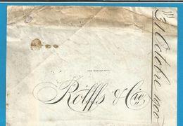 (B003) Allemagne - ROLFFS & Cie Siegfeld - Kattunfabrik -02/08/1900 - Textile & Vestimentaire