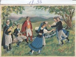 Illustrateur :  Saint-gaudens  : ( Groupe De Troubadours ) Illust. à Définir - Andere Zeichner