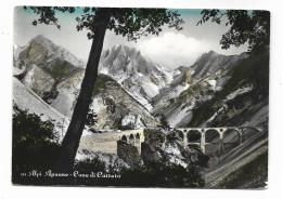 ALPI APUANE - CAVE DI CARRARA  VIAGGIATA  FG - Carrara