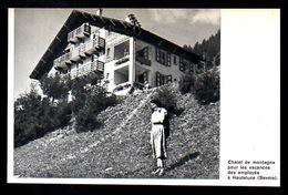 1966  --  HAUTELUCE  CHALET  DE VANCANCES DES EMPLOYES CREDIT LYONNAIS   3N538 - Non Classificati