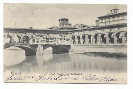 FIRENZE - PONTE VECCHIO E GLI ARCHIBUGIERI - VIAGGIATA - FP - Firenze