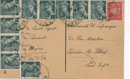 H25 - Carte Timbrée 1942 - Maps