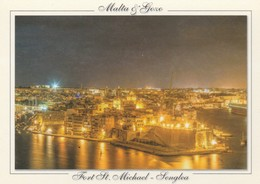 POSTCARDS OF MALTA / FORT ST MICHAEL - SENGLEA - Malta