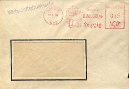 30172 Germany Ddr, Red Meter/freistempel/ema/leipzig 1964, Gebr. Gotze Leipzig - Machine Stamps (ATM)