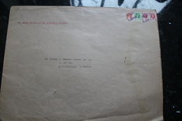 RHODESIA NYASALAND MALAWI 1956/1957 CENTRAL AFRICAN AIRWAYS TOBACCO - Dokumente