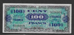 France Trésor 100 Francs France Juin 1944 Série 3 - Fayette N°VF 25-3 - TTB - Trésor