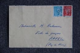 Lettre De FRANCE ( AMBERT ) - N° 538 Et 514 - Lettres & Documents