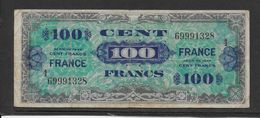 France Trésor 100 Francs France Juin 1944 Série 4 - Fayette N°VF 25-4 - TB - Trésor