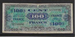 France Trésor 100 Francs France Juin 1944 Série 5- Fayette N°VF 25-5 - TB - Trésor