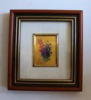 Reproduction D'art Sur Feuille D'or 23 Carats Bouquet - Other Collections