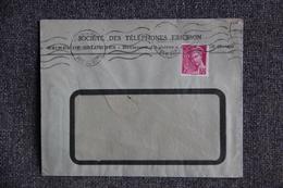 Lettre De FRANCE ( Colombes, Sté Des Téléphones ERICSSON ) - N° 416 - 1938-42 Mercure