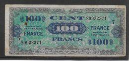 France Trésor 100 Francs France Juin 1944 Série 7- Fayette N°VF 25-7 - TB - Trésor