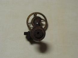 Horlogerie Vintage Petite Meule à Main D'étau En L'état - Supplies And Equipment