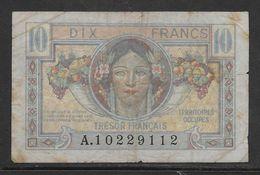 France 10 Francs Trésor Français - Fayette N°VF 30-1 - TB - Treasury