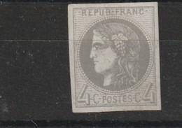 France 41B Neuf Sans Gomme Fraicheur Postale - 1870 Ausgabe Bordeaux