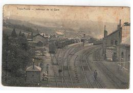 Trois-Ponts   -  Intérieur De La Gare  1911 - Trois-Ponts